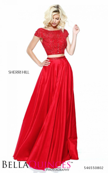 50802 prom glam red bella quinces photography