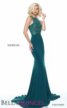 50806 prom glam teal bella quinces photography