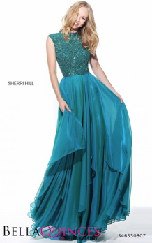 50807 prom glam teal bella quinces photography