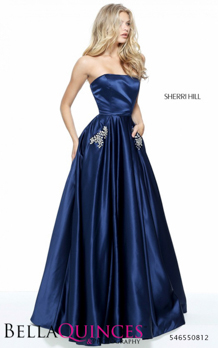 50812 prom glam navy bella quinces photography