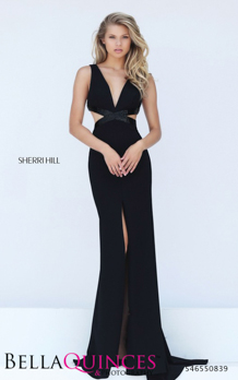 50839 prom glam black bella quinces photography