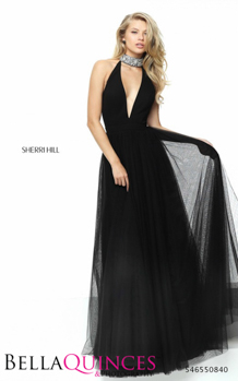 50840 prom glam black bella quinces photography