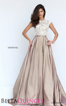 50843 prom glam nude white bella quinces photography
