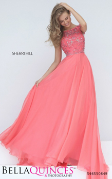 50849 prom glam coral bella quinces photography