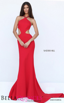 50856 prom glam red bella quinces photography