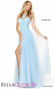 50859 prom glam blue bella quinces photography