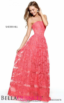 50878 prom glam coral bella quinces photography