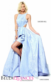 50896 prom glam blue bella quinces photography