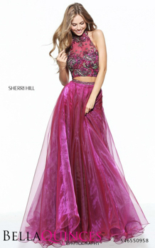 50958 prom glam violet bella quinces photography