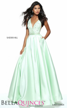 50964 prom glam mint bella quinces photography