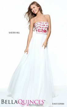 50984 prom glam white bella quinces photography