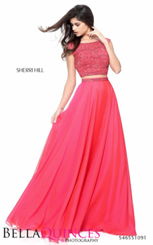 51091 prom glam pink bella quinces photography