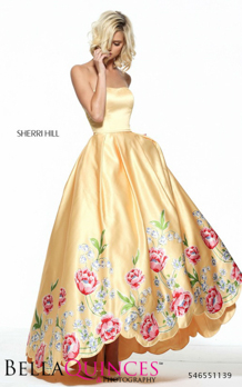 51139 prom glam yellow bella quinces photography