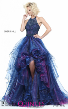 51140 prom glam navy bella quinces photography