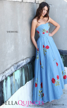 51154 prom glam blue bella quinces photography