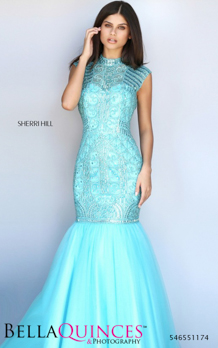 51174 prom glam aqua bella quinces photography