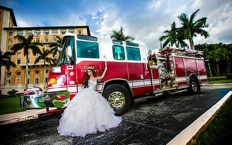 Bella Quinces Photography in Miami, Quinces Photography themes in Biltmore Hotel