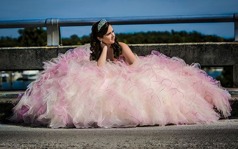 Bella Quinces Photography in Miami, Quinceanera photography