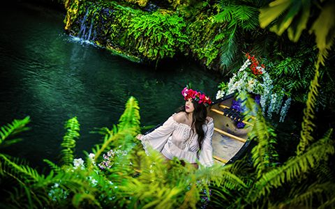 Quinces photography canoe in miami